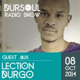 Dursoul Radio Show 14.10.08 Guest Mix by Lection Durgro