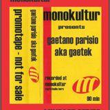 Gaetano Parisio - Live @ markthalle(monokultur)