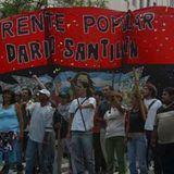 2016-03-03 Organizaciones marcharon al ministerio de Desarrollo Social en reclamo de diálogo