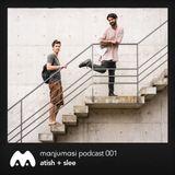 Atish + Slee - Manjumasi Podcast 001