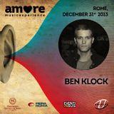 Ben Klock @ Amore Music Experience 31.12.2013