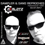"""RADIO S&SR Transmission n°1069 -- 03.07.2017 (Top Of The Week """"AKALOTZ"""")"""