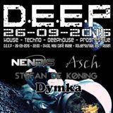 Dymka Live @ D.E.E.P Café New Image, Assen NL 26-09-2015