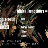 Saxo live@Alpha Functions #2 27.05.2018