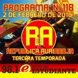 RA. Programa Nº118 02-02-2016