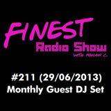 DJ set para o FINEST Radio Show #211 (29/06/2013)