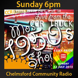 Mo's 50's Show at Pride - @DJMosie - Mo Stone - 12/07/15 - Chelmsford Community Radio