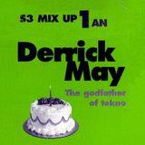 "Derrick May at ""Sony Mix-Up Birthday"" @ l'An-Fer (Dijon - France) - 11 April 1997"