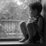 The Little Boy and the Rain