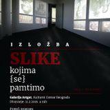 """Emisija Kulturni krugovi:  Maja Medić i Milena Jokanović, izložba """"Slike kojima (se) pamtimo"""""""