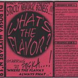 Dj Poska - mixtape What's the flavor n°19 (R&B 1996)