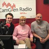 Derek McCutcheon interviews Hannah and Iain from the Band 'Haze'