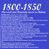 Classical and Romantic music in Britain: 1800 to 1850
