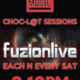 Choc-l@t Sessions On www.fuzionlive.com (Saturday April 15th 2017)-DJ Dubzy B2B With DJ Funky D