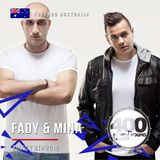 Fady & Mina - FSOE 400 Live Broadcast from Festival Hall, West Melbourne, Victoria, Australia 8th
