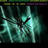 GREG SYKES - GREG ENTERPRISES STUDIOS GUEST MIX - SHOW - 16 - 10 - 2013 - DANCE MIX FINALS