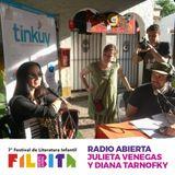 Radio Abierta Filbita 2017 - Julieta Venegas y Diana Tarnofky