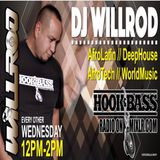 Hook&Bass Radio Show Mixed By Dj Willie Rodriguez