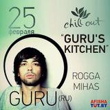 Guru Live-Mix/ GURU'S KITCHEN/ 25.02.2012