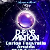 D-Formation - Live @ Flux Lx, Loft Club, Lisboa, Portugal (06.10.2012)