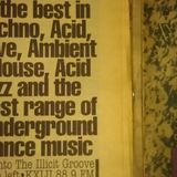 DJ Sonic...Illicit Groove...summer of 1991...