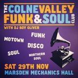 Colne Valley Funk & Soul Club Warm Up Mix