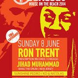 Jihad Muhammad & Ron Trent @ Cariocas - Greece - 08.06.2014 - Part One.