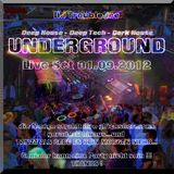 UNDERGROUND 01.09.2012 Samstag DJ TroubleDee 2 hour LIVE on Decks and Turntable