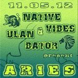 teaser: aries @ native vibes (11.05.12 - 4 rooms leipzig)