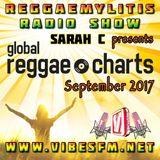 Reggaemylitis Radio Show ft Global Reggae Chart Countdown - September 2017