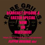 "RARE GRILLS BEAR CAST EPISODE 4: rare, obscure, + classic rap + electro strictly original 45s + 7""s"