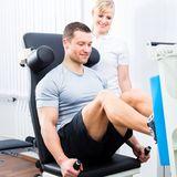 Rehabilitación de lesiones en deportistas