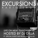 Excursions Radio Show #30 - Live on MeatTransmission March 2014 with DJ Gilla ft. Bopperson