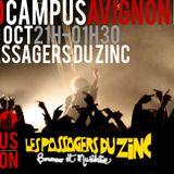 Mix de chambre aux Passagers du Zinc - Radio Campus Avignon - 19/10/12