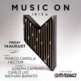 Hector   Music On Ibiza 2015 August 14 Amnesia Ibiza Terrace