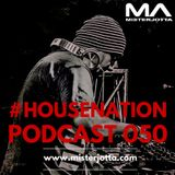 MisterJotta - #HouseNation50 (Special Groove Tech 2016)