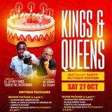 DJ JEFREY KINGS - OCTOBER KINGS & QUEENS PROMO MIXTAPE