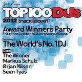 Orjan Nilsen – Live at Top 100 DJ Mag Awards Party (London) – 19.10.2012