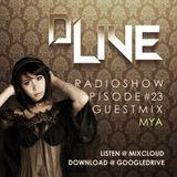 D'Live Radioshow #23 Mya