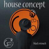 HOUSE CONCEPT DJ GIANFRANCO GATTO BLACK RETOUCH