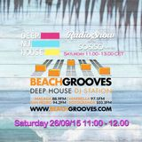 SO&SO Deep Nu House RadioShow - BEACHGROOVES.COM RADIO 26/09/15 11.00-12.00pm