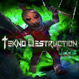 TEKNO DESTRUCTION LIVE @MAmamandaWA ( Spain )