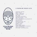U Know Me Radio #176 | drewnofromlas | Chrome Sparks | Folamour | Souleance | Charlotte Adigery