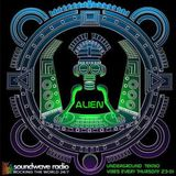 Underground Tekno Vibes radio show live on Soundwaveradio, hosted by Alien 29/10/2k15