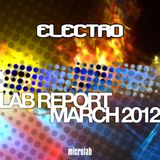Lab Report March 2012