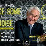 #Make Some Noise      Fm Blue 105.3 La Plata (ARG)   Jueves 24/10/2013