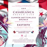 The Casablanca Brunch Club - 24.06.2018 @ East 59TH Leeds - Vol.7 Mixed By DJ SARAH GIGGLE
