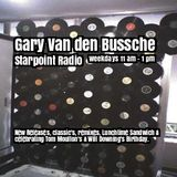 Gary Van den Bussche on Starpoint Radio including A Tom Moulton Birthday Tribute