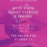 Danny DeVegas live @ The Salon, Providence (1-18-13)