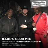 Kade's Club Mix with Palize, The Ragga Twins and DJ Krucial   29th June 2018
